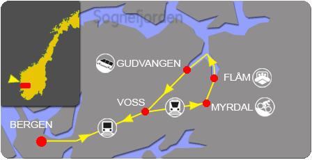 Norway Active Standard tour